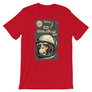 To Boldly Go T-Shirt– Shop for To Boldly Go Unisex T-Shirts Online – Desseni