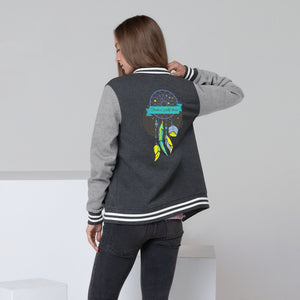 Dream Catcher Women's Letterman Jacket