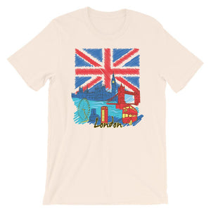Long live Great Britain Flag Unisex Desseni T-Shirt