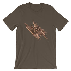 Willderness Inside Brown T-Shirt– Shop for Willderness Inside Unisex T-Shirts Online – Desseni