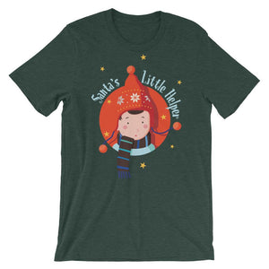 Santa's Little Helper Unisex T-Shirt - desseni