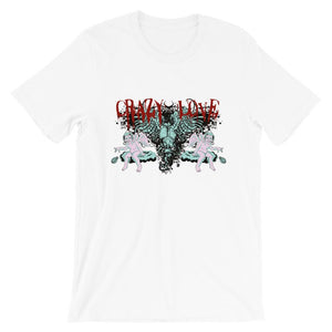 Crazy Love Unisex T-Shirt - desseni
