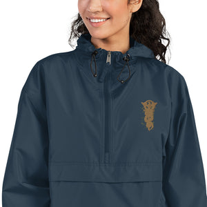 Spor Snake Embroidered Champion Packable Jacket - desseni