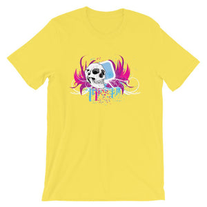 Abstract Skull T-Shirt– Shop for Abstract Skull Unisex T-Shirts Online – Desseni
