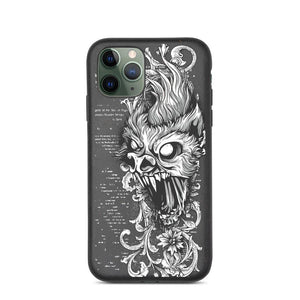 Fear Biodegradable phone case