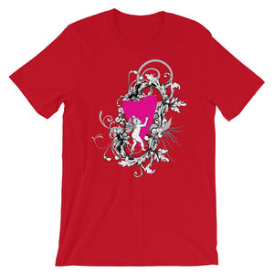 Baby Angel And Heart T-Shirt– Shop for Baby Angel And Heart Unisex T-Shirts Online – Desseni