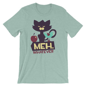 Meh Whatever T-Shirt– Shop for Meh Whatever Unisex T-Shirts Online – Desseni
