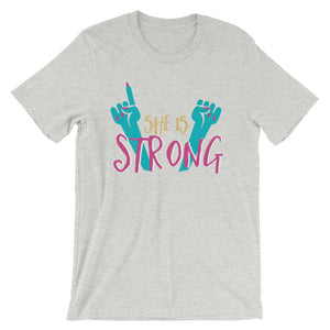 She Is Strong T-Shirt– Shop for She Is Strong Unisex T-Shirts Online – Desseni