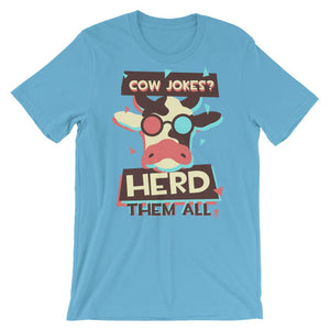 Cow Jokes T-Shirt– Shop for Cow Jokes Unisex T-Shirts Online – Desseni