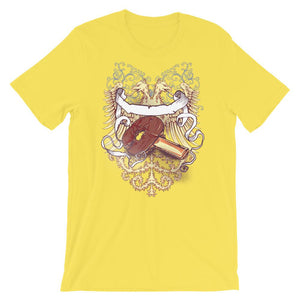 ping pong paddle Double Headed Eagle Unisex T-Shirt - desseni