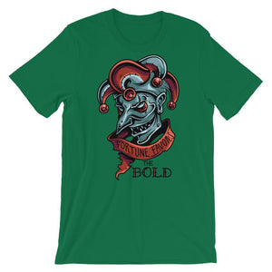 The Bold Unisex T-Shirt - desseni