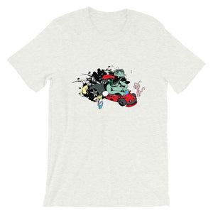 Crazy Car Racing T-Shirt– Shop for Crazy Car Racing Unisex T-Shirts Online – Desseni