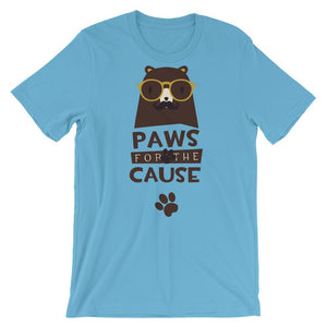 Paws For The Cause Unisex T-Shirt - desseni