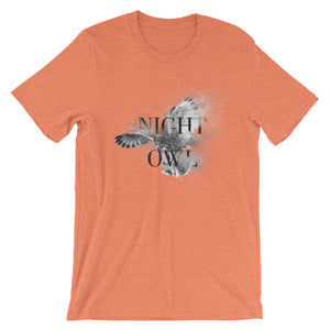 Night Owl Unisex T-Shirt - desseni