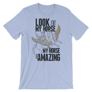 Look At My Horse T-Shirt– Shop for Look At My Horse Unisex T-Shirts Online – Desseni