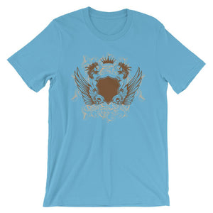 Womens And Skulls Ocean Blue T-Shirt– Shop for Womens And Skulls Unisex T-Shirts Online – Desseni