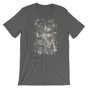 From The Shadow Unisex T-Shirt - desseni