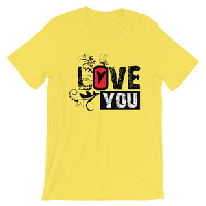 Love You T-Shirt– Shop for Love You Unisex T-Shirts Online – Desseni