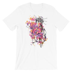 Geisha White T-Shirt– Shop for Geisha Unisex T-Shirts Online – Desseni