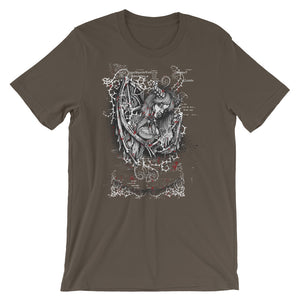 Warrior Unisex T-Shirt - desseni