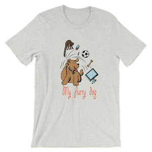 My Flurry Dog T-Shirt– Shop for My Flurry Dog Unisex T-Shirts Online – Desseni