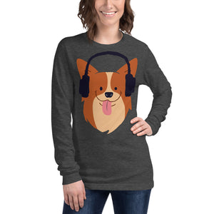 Corgi Long Sleeve Tee