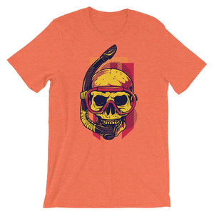 Skull With Snorkel T-Shirt– Shop for Skull With Snorkel Unisex T-Shirts Online – Desseni