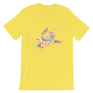 Bird With Rubber Duck T-Shirt– Shop for Bird With Rubber Duck Unisex T-Shirts Online – Desseni