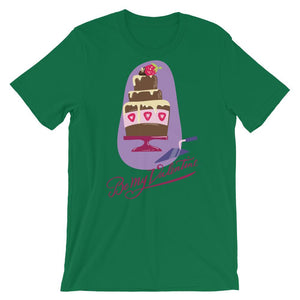 Strawberry Cake Unisex T-Shirt - desseni