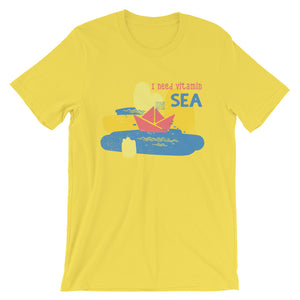 I Need Vitamin Sea T-Shirt– Shop for I Need Vitamin Sea Unisex T-Shirts Online – Desseni