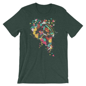 Skateboarder T-Shirt– Shop for Skateboarder Unisex T-Shirts Online – Desseni