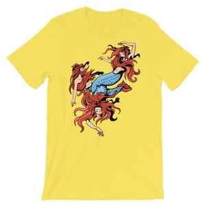 Mermaids T-Shirt– Shop for Mermaids Unisex T-Shirts Online – Desseni
