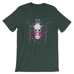 Skull With Chuck Sneaker T-Shirt– Shop for Skull With Chuck Sneaker Unisex T-Shirts Online – Desseni
