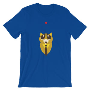 Red Point And Cat Unisex T-Shirt - desseni
