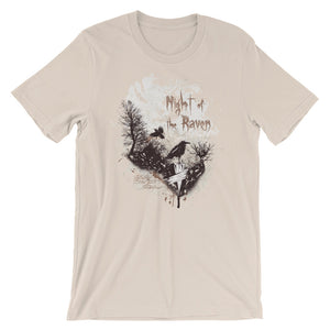 Night Of The Raven T-Shirt– Shop for Night Of The Raven Unisex T-Shirts Online – Desseni