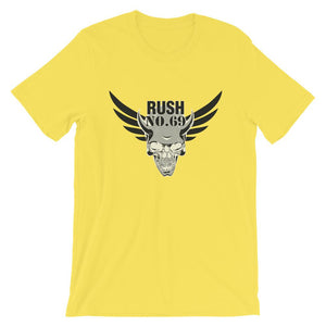 Rush No.69 Unisex T-Shirt - desseni