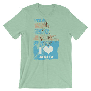 I Love Africa T-Shirt– Shop for I Love Africa Unisex T-Shirts Online – Desseni