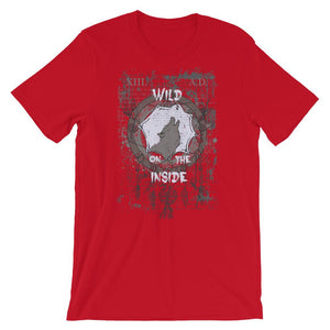 Wild On The Inside Unisex T-Shirt - desseni