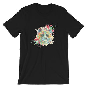 Colorful Bear Head T-Shirt– Shop for Colorful Bear Head Unisex T-Shirts Online – Desseni
