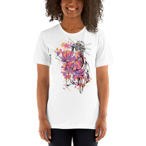 Geisha women T-Shirt– Shop for Geisha Unisex T-Shirts Online – Desseni
