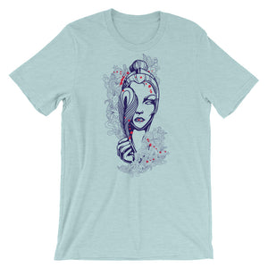 Mysterious Women T-Shirt– Shop for Mysterious Women Unisex T-Shirts Online – Desseni