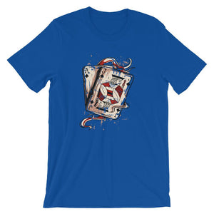 Aces And Joker T-Shirt– Shop for Aces And Joker Unisex T-Shirts Online – Desseni
