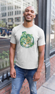 Cute Green Monsters Unisex Artistic T-Shirt - desseni
