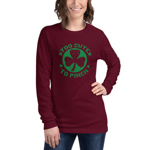 Too Cute To Pinch Women's Long Sleeve Tee - desseni