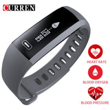 CURREN  Smart wrist Band Heart Blood Oxygen  For iOS Android