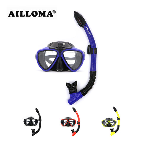 AILLOMA Camera Mask Snorkel Set