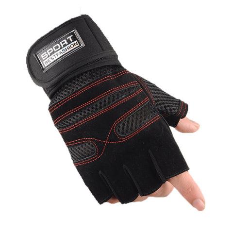 Pair of Half Finger Gym Gloves1 Pair Half Finger Gym Gloves