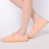 Jookrrix Fisherman Casual Canvas Women's Fashion Shoes