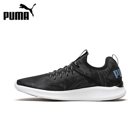 Puma IGNITE Flash Stripped Men's Breathable Running Shoes Sports Sneakers Outdoor Walking Jogging