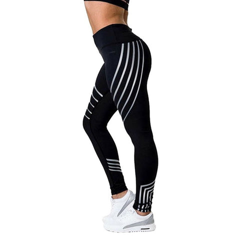 Vertvie Honeycomb Printed Yoga Pants Running Gym Sport Leggings Tights Leggins Women Yoga Pant Push Up Fitness Legging Trouser